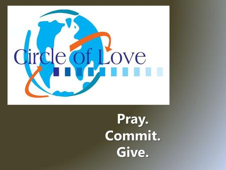 Pray. Commit. Give.. ` Church Planting Initiative Vision for India Spiritual Need.
