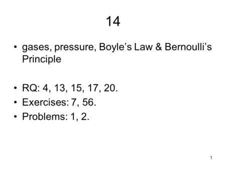 Boyle's Law Calculation Practice