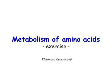 Amino Acids for fitness