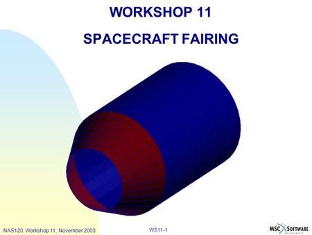 WORKSHOP 11 SPACECRAFT FAIRING