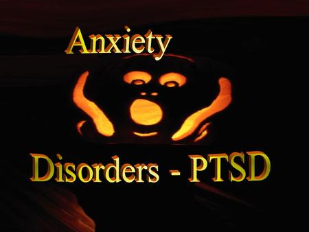  Panic Disorder / PD With Agoraphobia  Agoraphobia  Specific Phobias  Social Phobia (social anxiety disorder)  Generalized Anxiety Disorder  Obsessive.