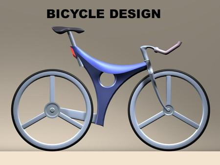 BICYCLE DESIGN.