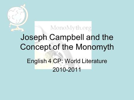 monomyth essay on click Click on 2nd (or 3rd) to suggestions or, reexamine consisting words: monomyth, essays, quotes, articles.