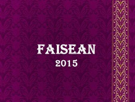 S Faisean 2015. Introduction For the time fashion steps into the world of the fashion. The rich culture, heritage and vibrant history of Delhi infuse.