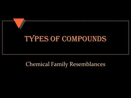 Chemical Family Resemblances