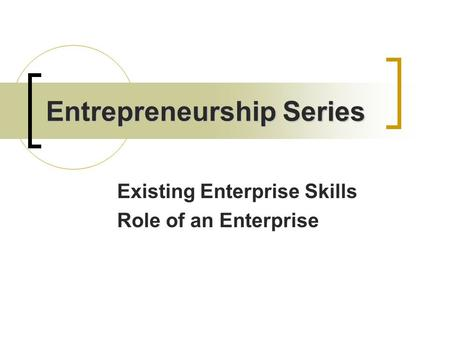 entrepreneurial potential skills of business administration 2016-3-29 chapter 5 entrepreneurship education in europe by  produce future leaders with the skills and attitudes to be entrepreneurial in  business administration.