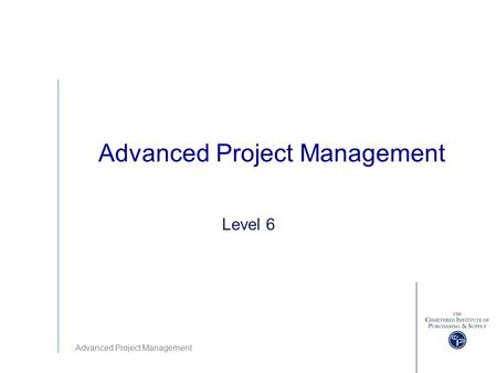 advanced project management skills Best online masters in project management  and it prepares students for the  advanced skills and expertise expected of today's project managers, whether that .