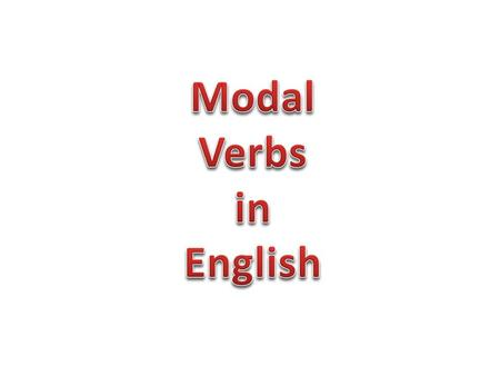 Modals are different from normal verbs: 1: They don't use an 's' for the third person singular. 2: They make questions by inversion ('she can go' becomes.