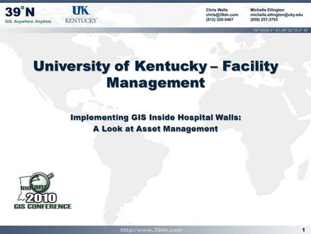 University of Kentucky – Facility Management