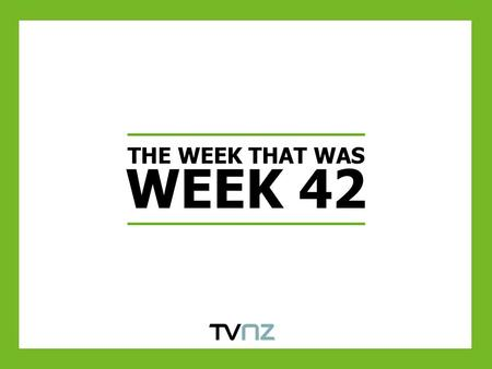 THE WEEK THAT WAS WEEK 42. PEAK FOR THE WEEK COMMENCING 16 th October 2011 (WEEK 42) AP5+ was the only demographic to see PUT growth this week, up 7%.