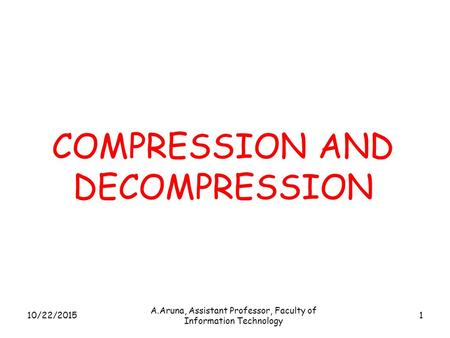 image compression techniques in digital image processing pdf