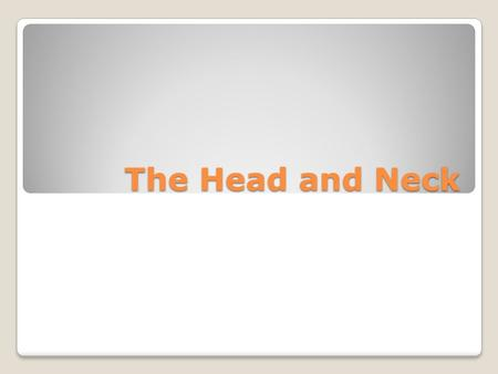 The Head and Neck. Head Injury- Concussion Concussion is any loss of consiousness or disorientation after a blow to the head. The player might be out.