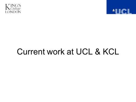 Current work at UCL & KCL. Project aim: find the network of regions associated with pleasant and unpleasant stimuli and use this information to classify.