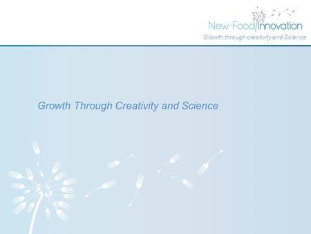 Growth Through Creativity and Science Growth through creativity and Science.