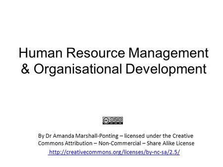 human resource management and organizational behaviour Faculty of economics and business administration  resource management and organizational behavior  in the human resource management – organizational .