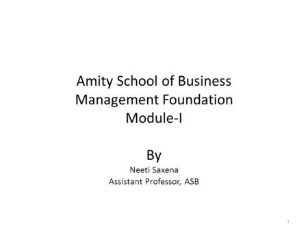 Amity Business School Classical Organization Theory: bureaucracy theory+ administrative theory The Theory had 2 major purpose. To develop principles that.