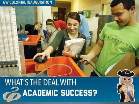 What's the Deal With: Academic Success Tracy Arwari, Ph.D. Adam Bendell Lindsey Eng Alexandra O'Halloran.