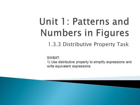 Use the distributive property to write each expression as an algebraic expression: -2(-4+c).