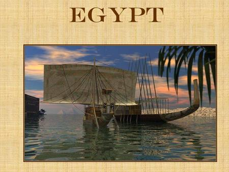 Egypt. Geography Egypt is located in northeastern Africa The Nile River runs the length of the country flowing south to north The river begins in the.