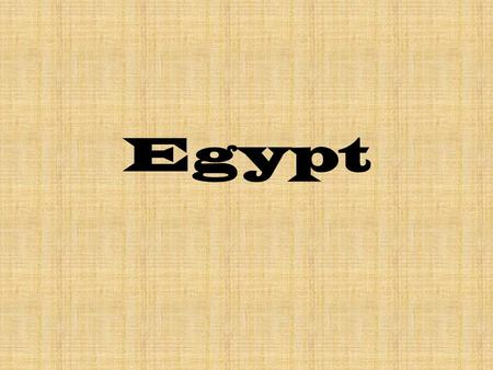 Egypt. Egypt is a country on the continent of Africa.