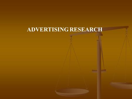 ADVERTISING RESEARCH. IMPORTANCE OF ADVERTISING: A recent study done by the centre for media studies emphasizes the phenomenal growth in advertising that.