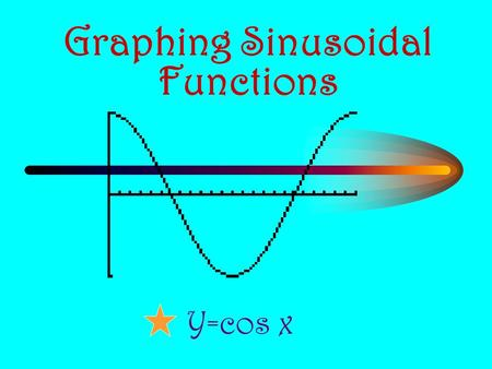 Graphing Sinusoidal Functions Y=cos x. y = cos x Recall from the unit circle that: – Using the special triangles and quadrantal angles, we can complete.