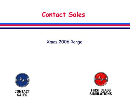 Contact Sales Xmas 2006 Range. VFR Photographic Scenery A brand new version of the highly successful VFR Photographic Scenery for Microsoft FSX Scenery.