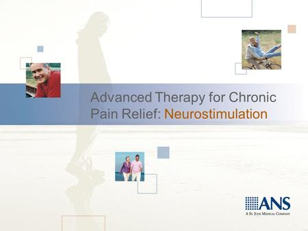Advanced Therapy for Chronic Pain Relief: Neurostimulation.
