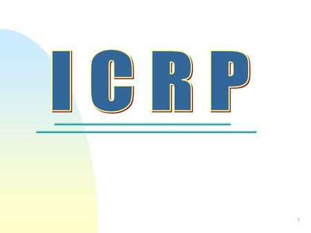 1 2 What is ICRP? Indirect Cost Rate Proposal The documentation prepared by a governmental unit in accordance with Federal OMB Circular A-87 to substantiate.