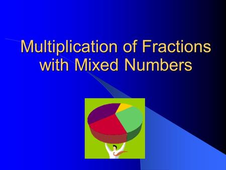 Multiplication of Fractions with Mixed Numbers. Copyright © 2000 by Monica Yuskaitis How to Find a Fraction of a Mixed Number The first thing to remember.