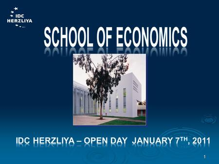 1. VISION School of Economics School of Economics To bring up a new generation of economists trained in a broad array of social sciences, enabling them.