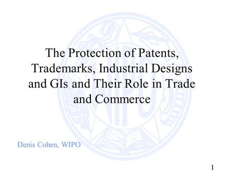 trademarks and industrial designs Industry, trade and services sectors find in inpi the support needed for trademark registration, an exclusive task of the directorate for trademarks, industrial designs and geographical indications (dirma) the registration at inpi guarantees accessing legal.