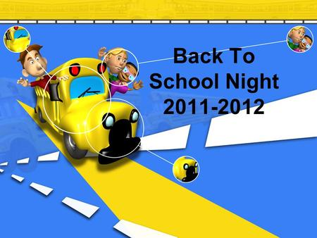 Back To School Night 2011-2012. Welcome to Room 18.