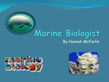 Marine Biology any essays