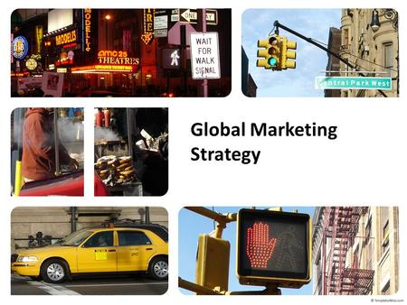 Global Marketing Strategy. Examples of Global Companies are: – IBM, Intel, Coca-Cola (North America) – Philips, Nokia, LVMH (Europe) – Sony, Canon, Flextronics.