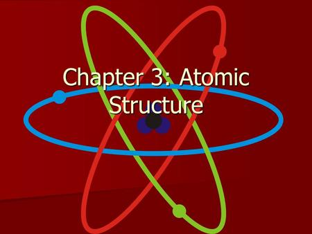 Chapter 3: Atomic Structure. Scientists Democritus- Matter composed of atoms (indivisible) (~450B.C.) Democritus- Matter composed of atoms (indivisible)