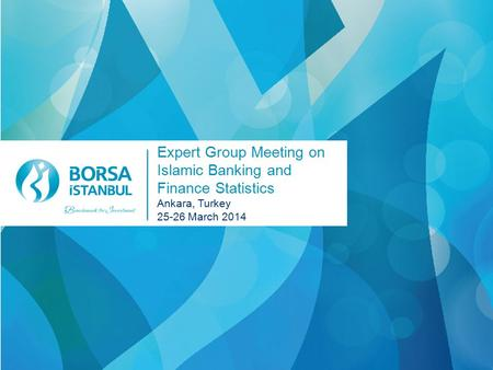 Expert Group Meeting on Islamic Banking and Finance Statistics Ankara, Turkey 25-26 March 2014.