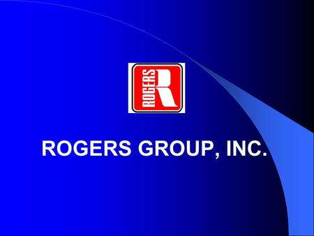 ROGERS GROUP, INC.. SAFETY PRINCIPLES: Practical Tools You Can Use.