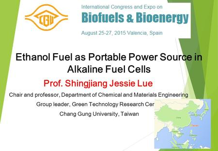Ethanol Fuel as Portable Power Source in Alkaline Fuel Cells
