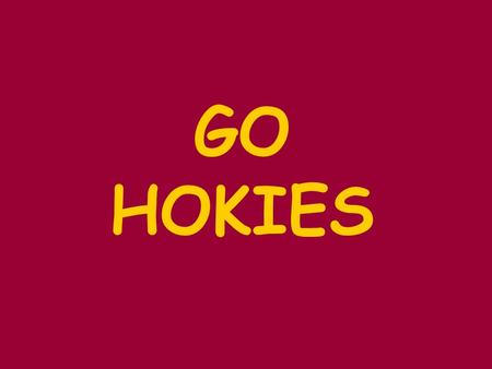 GO HOKIES.  Citizens comments are included on each regular monthly meeting agenda. No prior appointment is necessary to speak during the citizen comments.