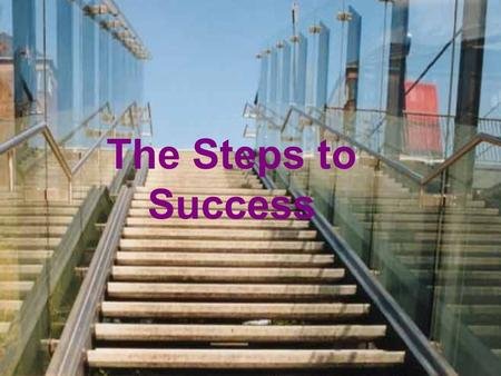 The Steps to Success. Step 1 Make contact with Decision Maker of Targeted Group With the intent to schedule a time for a presentation. Step 2 Prepare.