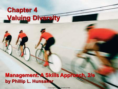 Chapter 4 Valuing Diversity
