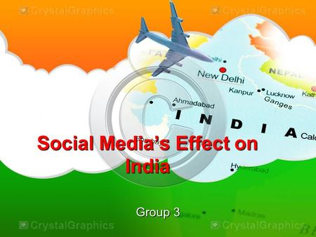 Social Media's Effect on India Group 3. Indian Social Media India has one of the fastest growing Internet markets in the world. The youth, who utilize.