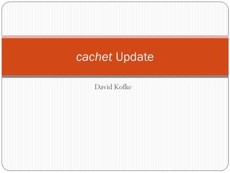 David Kofke cachet Update. What is cachet? Chemical engineering academic job board Job postings from departments Completely free for member departments.