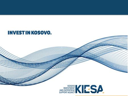 Government of the Republic of Kosovo Ministry of Trade & Industry.
