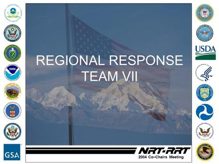 2004 Co–Chairs Meeting REGIONAL RESPONSE TEAM VII.