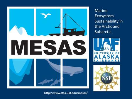 Marine Ecosystem Sustainability in the Arctic and Subarctic.