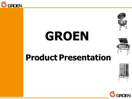 GROEN Product Presentation.