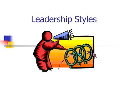 Leadership Styles. AUTOCRATIC CHARACTERISTICS  Tells others what to do  Limits discussion on ideas & new ways of doing things  Group does not experience.