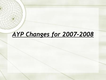 AYP Changes for 2007-2008. 2 Percent Meeting Standard Elementary uniform bar (3-5) 52.2 64.2 76.1 88.1 29.7 47.3 64.9 82.4 100 0 10 20 30 40 50 60 70.